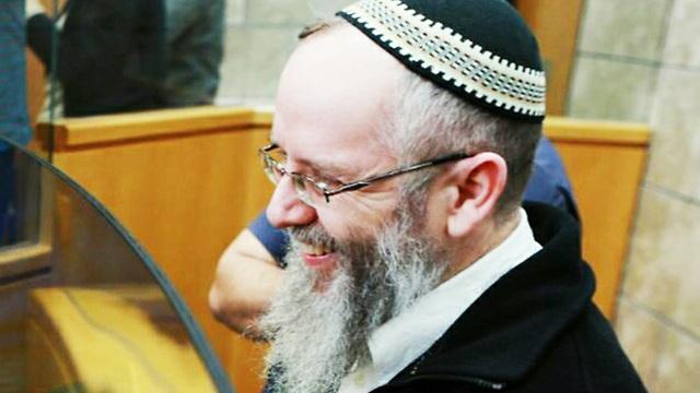הולך לכלא. הרב שיינברג (צילום: גיל נחושתן) (צילום: גיל נחושתן)