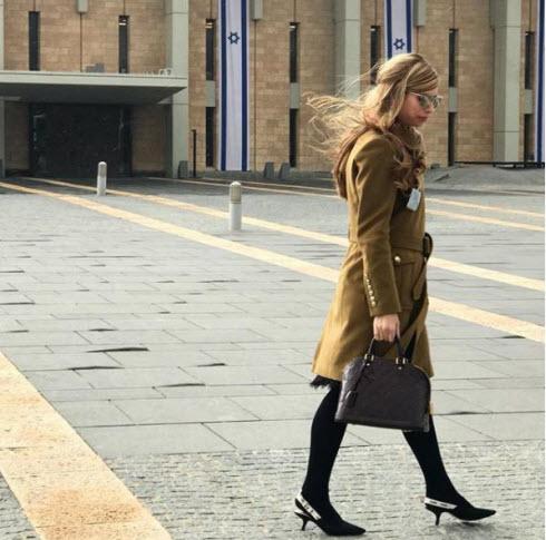 גילי לוונשטיין - מביאה את האופנה לכנסת