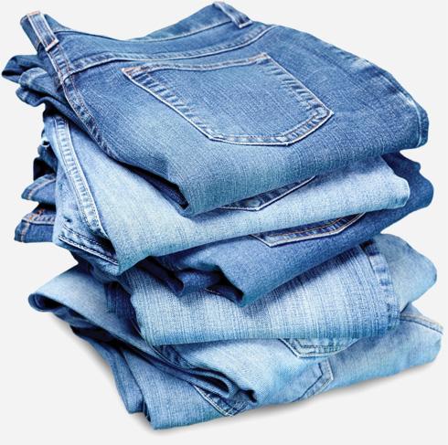 כדי לשמור על מכנסי הג'ינס משחיקה ניתן להכניס אותם למקפיא ללילה שלם - החיידקים לא ישרדו את הקור (צילום: Shutterstock)