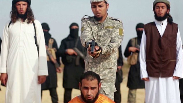 Musa Abu Zamat's execution video was published by IS
