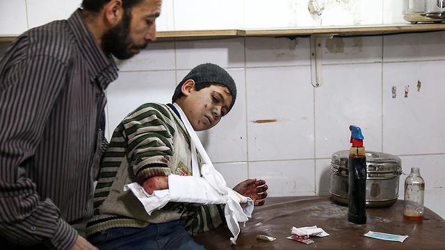 Авиаудар по предместьям Дамаска. Фото: AFP