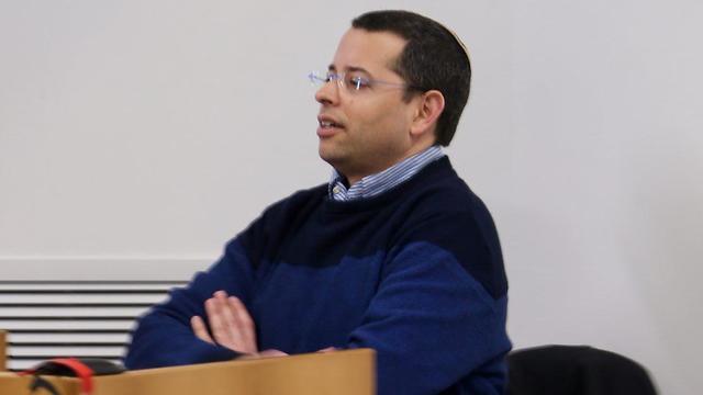 הנאשם דניאל אלינסון (צילום: מוטי קמחי) (צילום: מוטי קמחי)