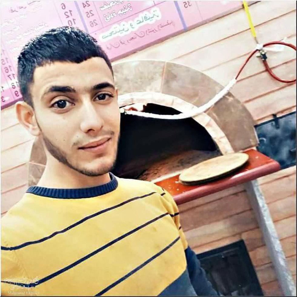 חאלד זמאערה, המחבל שדקר את המאבטח וחוסל ()