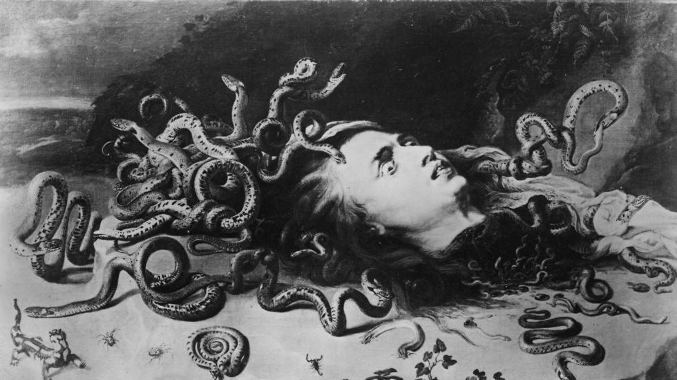 גברים ממאדים או חרדת הסירוס מול מדוזה? פאול רובנס, 1617 (Getty Images) (Getty Images)