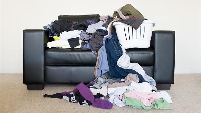 הבלגן בבית משפיע גם על החיים (צילום: shutterstock) (צילום: shutterstock)