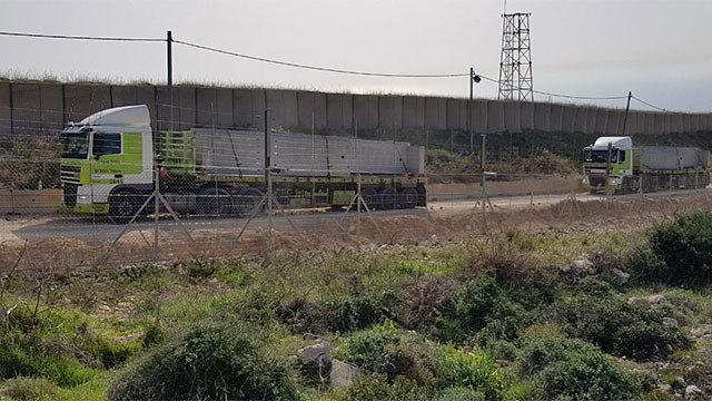 Construction of wall on Israel-Lebanon border