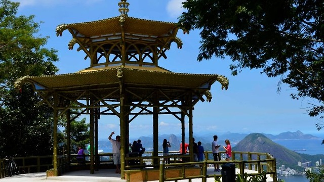התצפית הסינית על ריו: Vista Chinesa (צילום: גלעד שריקי) (צילום: גלעד שריקי)
