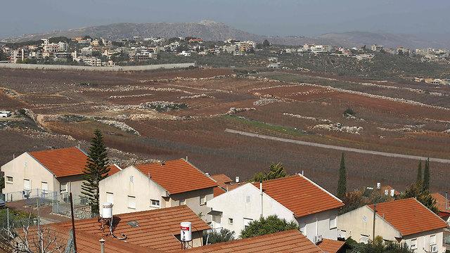 File photo of Lebanon border (Photo: AFP)