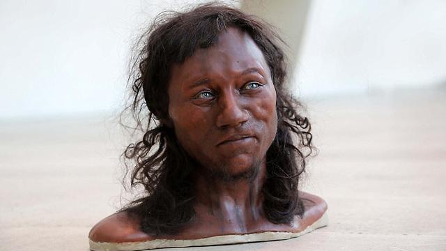 מהמחקר עולה: כך נראה האיש מצ'דר (תמונות: מתוך הסרט של ערוץ 4 הבריטי)