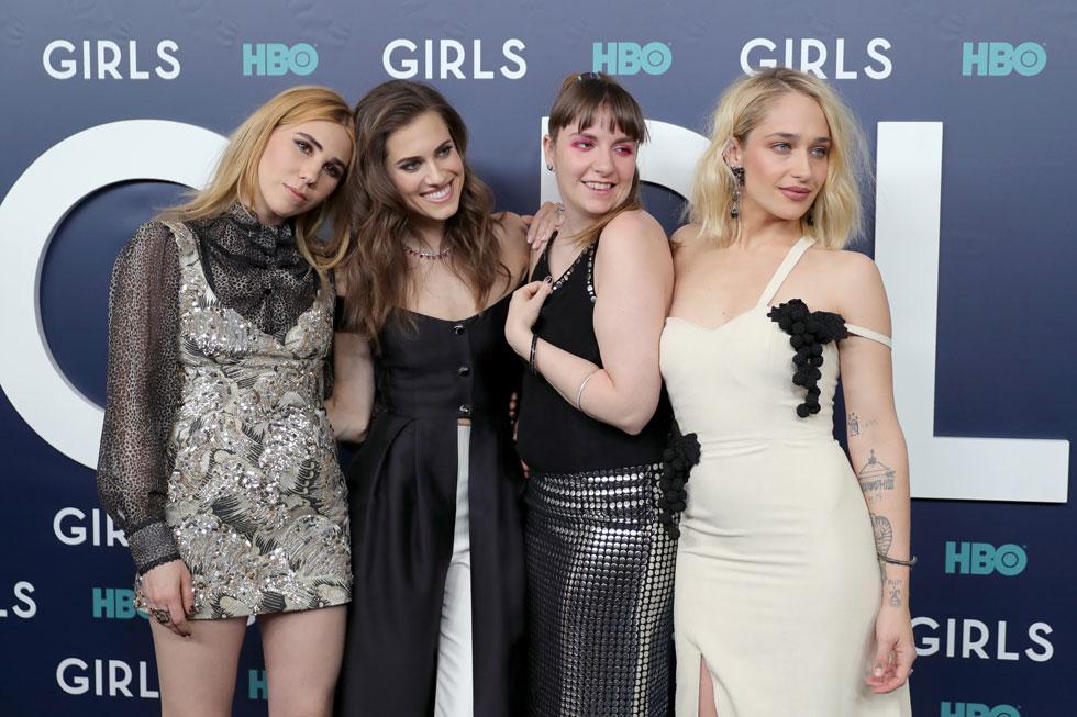 """רווקות שעיצבו את פני הדור: הקאסט של """"בנות"""" (צילום: Gettyimages)"""