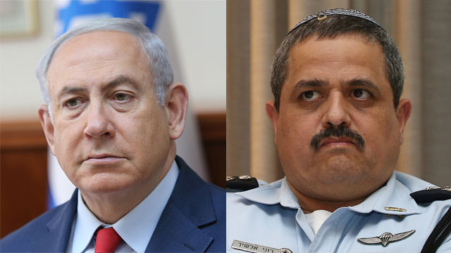 Alsheikh (R) and PM Netanyahu (Photo: Ohad Zwigenberg, Alex Kolomoisky)