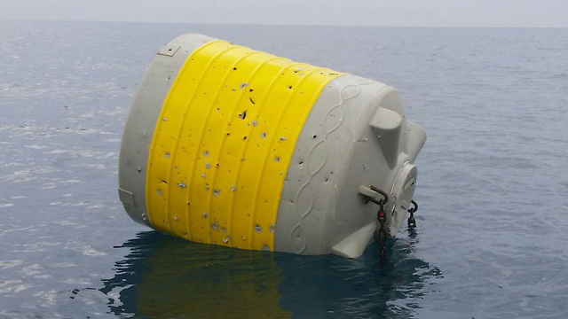 One of the buoys (Photo: Guy Gibli)