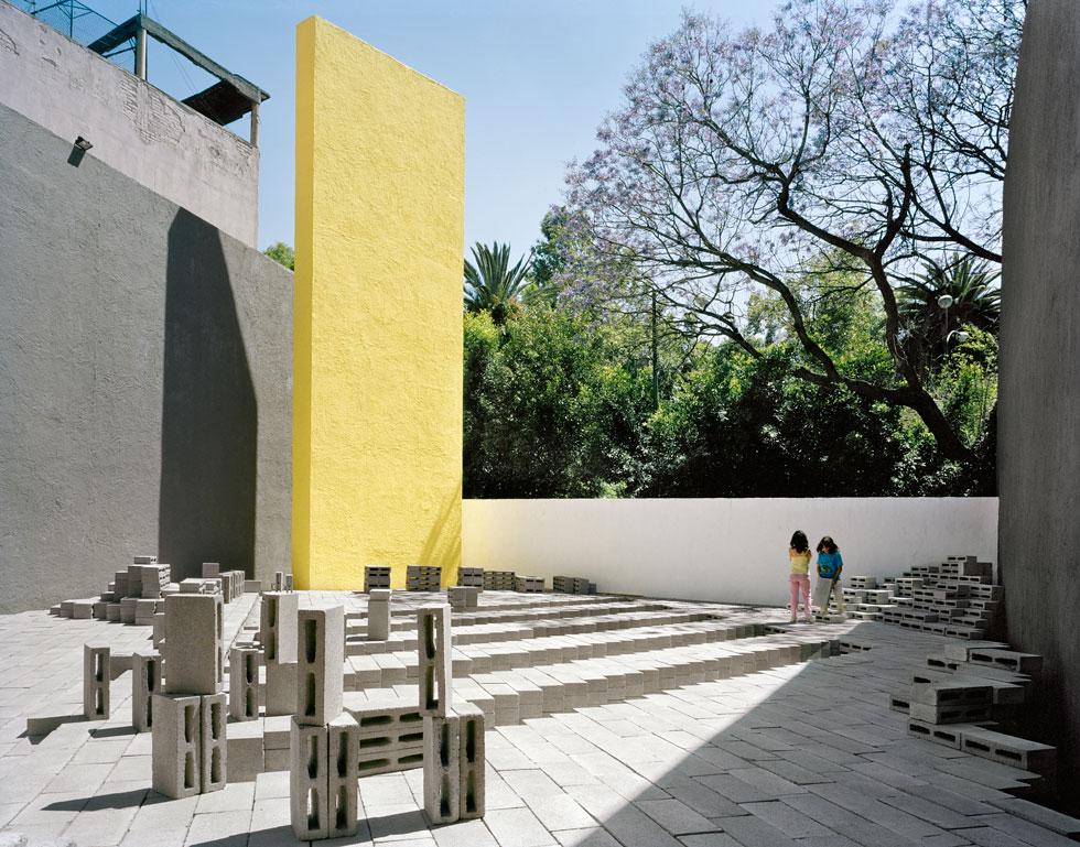 ביתן אל אקו במקסיקו (עיצוב: Frida Escobedo, צילום: Rafael Gamo)