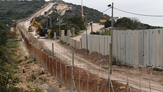 File photo. The Lebanese border fence (Photo: AP)