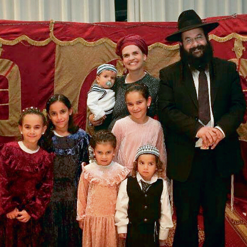The Shevah family. 'When a person is taken away like this, it's with God's consent but it isn't God's will'