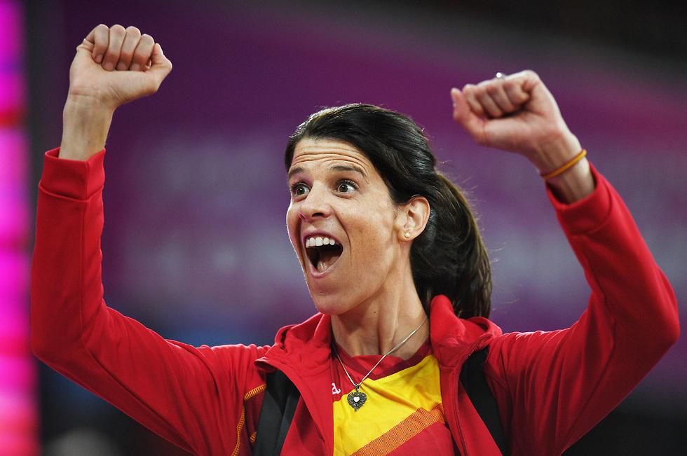 רות בייטיה. זכתה במדליית זהב אולימפית בגיל 37 (צילום: getty images)