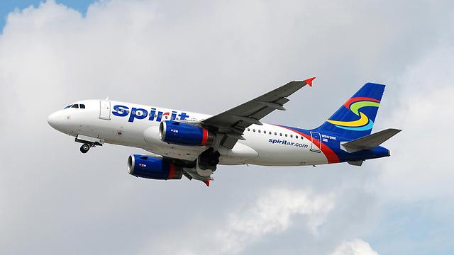 """חברת התעופה מכחישה. """"ספיריט איירליינס"""" (צילום: MCT) (צילום: MCT)"""