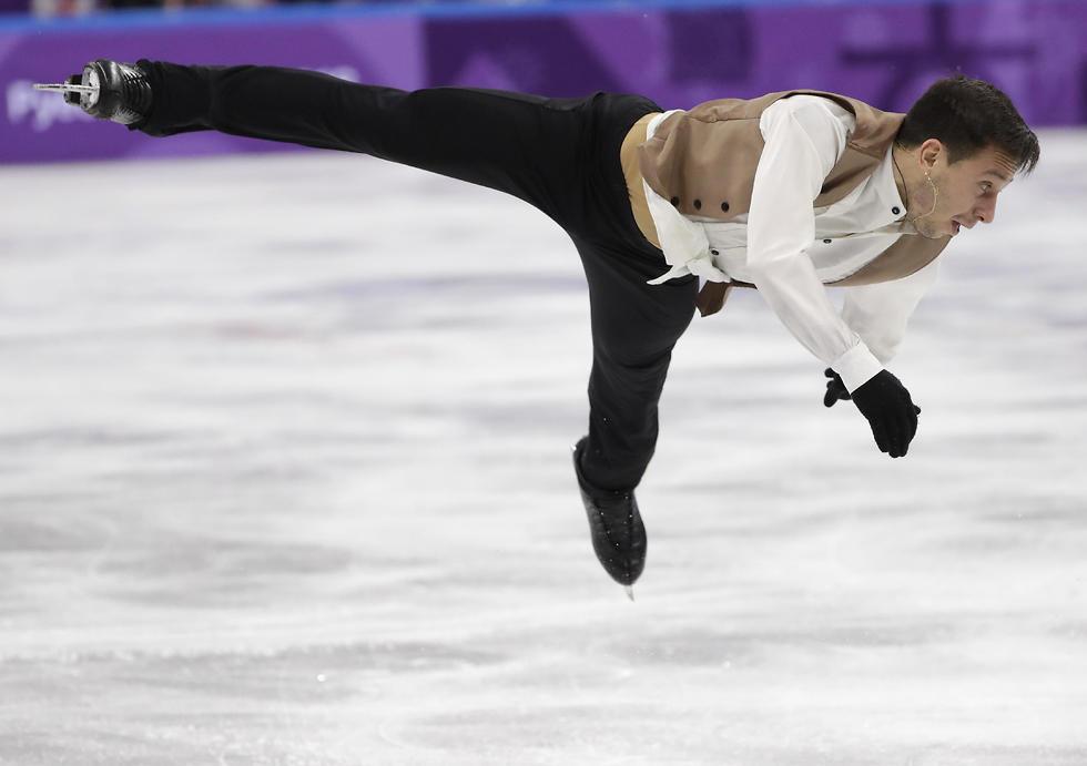 ביצ'נקו מרחף אל המקום השני (צילום: AP) (צילום: AP)