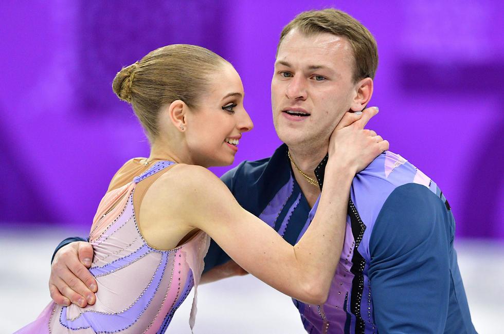 החלו להתחרות יחדיו רק לפני שנה וחצי (צילום: AP) (צילום: AP)