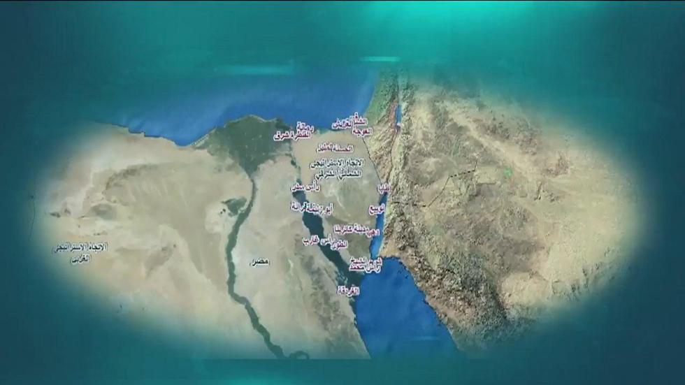 מתוך הסרטון שפרסם הבוקר צבא מצרים
