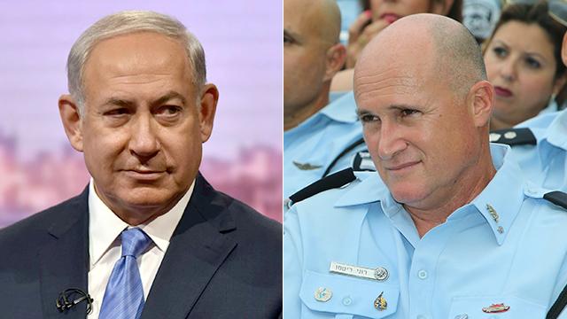 Netanyahu and Rittman (Photos: Reuters, Zvika Tishler)