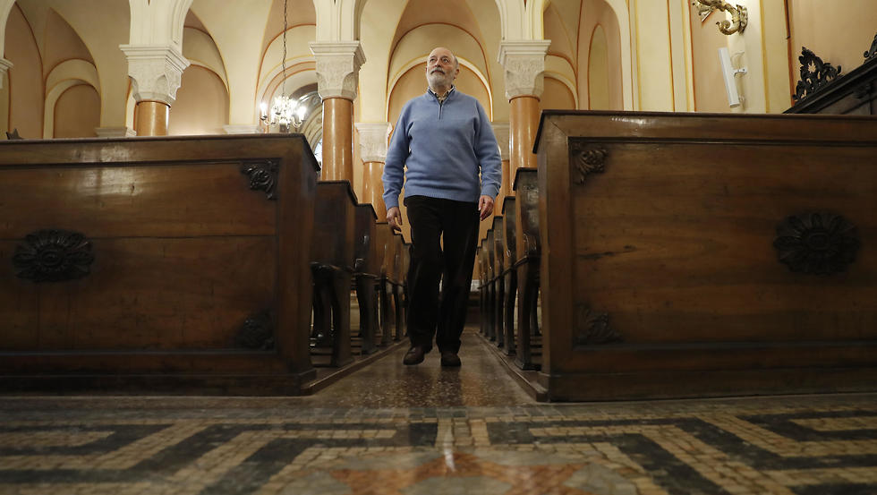 Bruno Carmi, the head of Verona's Jewish community  (Photo: AP)