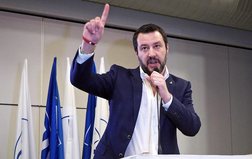 Matteo Salvini, leader of right-wing party Lega Nord (Photo: EPA)
