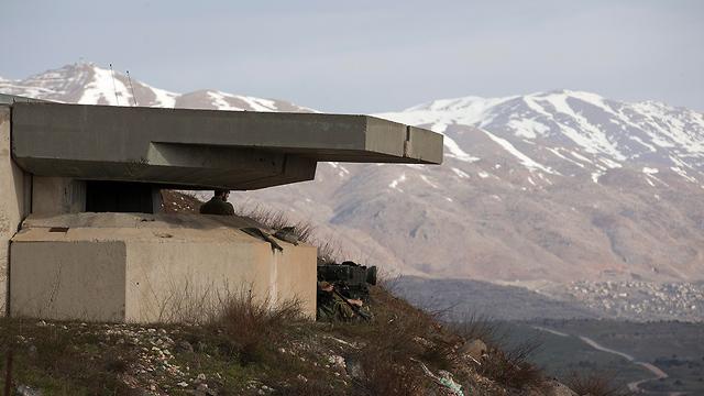 כוננות בגבול הצפון (צילום: EPA) (צילום: EPA)