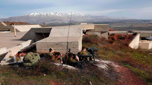 Наблюдательный пункт ЦАХАЛа на Голанских высотах. Фото: AFP