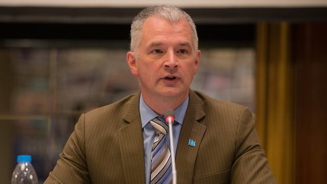 UNRWA West Bank Operations Director Scott Anderson his agency had no political role and was a UN humanitarian organization (Photo: UNRWA)