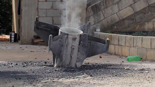 The remnants of a Syrian missile that landed in Israel. The rules of the game are changing   (Photo: AFP)