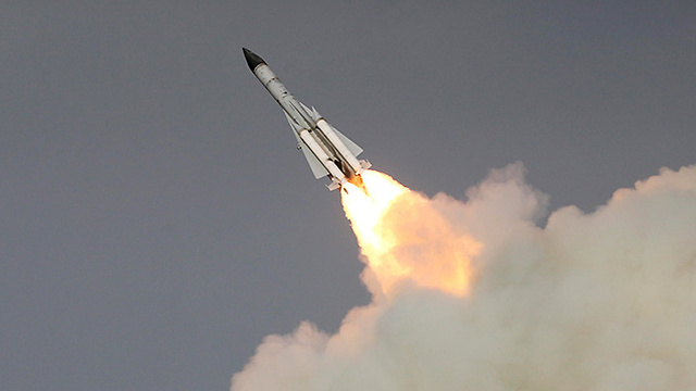 SA-5 missile launch (Photo: AP)