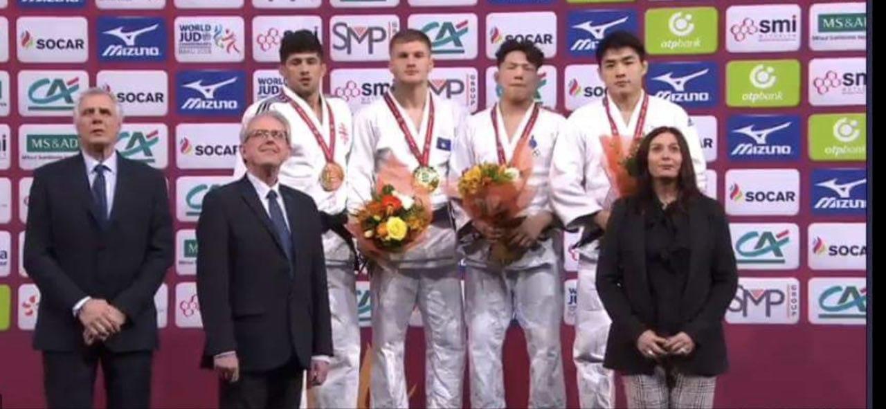Medal winners at Grand Slam, Paris 2019