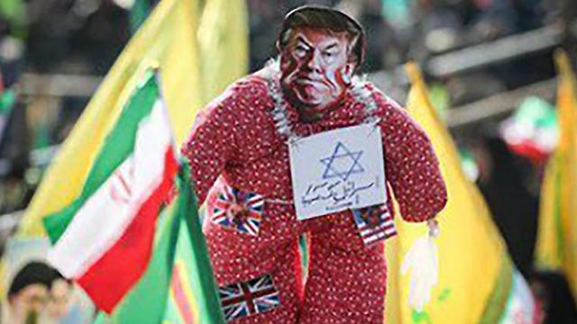 """Президент Трамп в образе """"сиониста"""""""