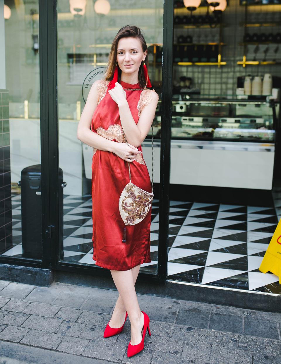 Романтическое платье. Фото: Виталий Вайсман. Стилист: Анастасия Мамаева