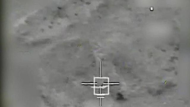 The Iranian drone was downed by the IAF (Photo: IDF Spokesperson's Unit)