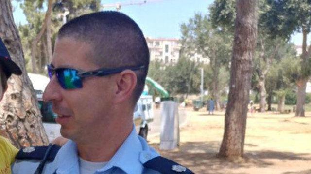 Police officer Ido Katzir (Photo: Israel Police)