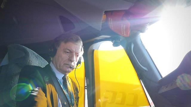 טייס במיל' כיום כבר לא מטיס מטוסים (צילום: אסף קוזין) (צילום: אסף קוזין)