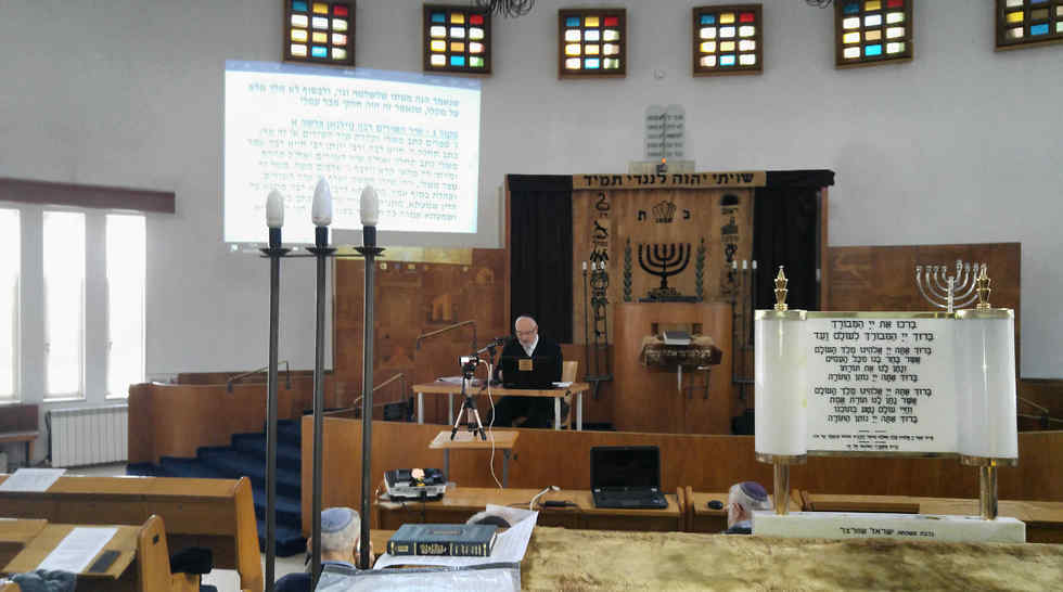 (Photo: Yeshurun synagogue)