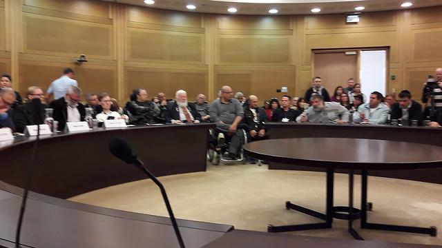 דיון בוועדת העבודה והרווחה בקצבאות הנכים (צילום: דוברות הכנסת) (צילום: דוברות הכנסת)