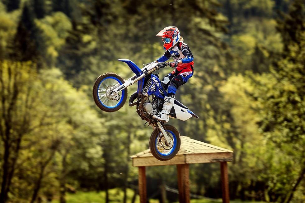 הרוכב והאופנוע צריכים לעמוד בסדרת מכשולים (צילום: יצרן ימהה)