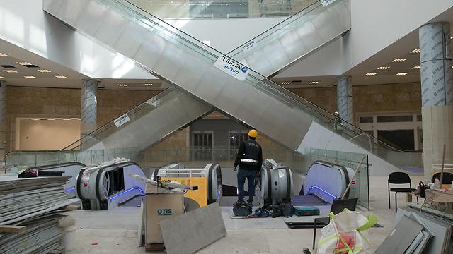 Новый вокзал в Иерусалиме. Фото: Охад Цвайгенберг