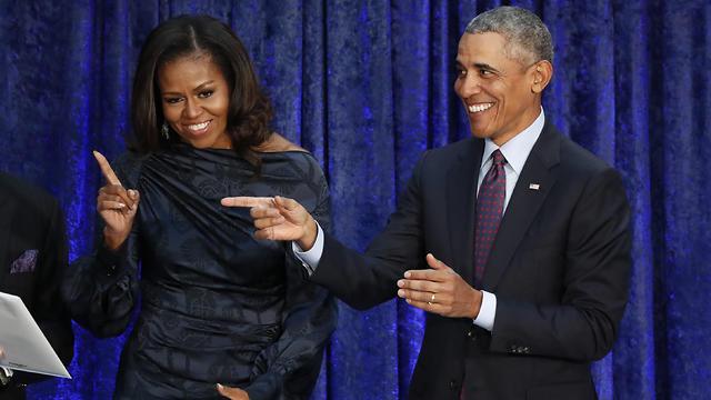 המפיקים. ברק ומישל אובמה (צילום: רויטרס) (צילום: רויטרס)