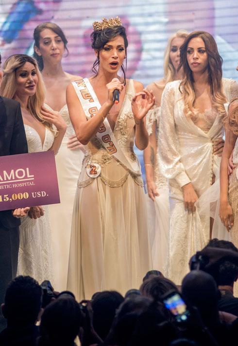 """תאלין אבו חנא בתחרות """"מיס טרנס ישראל"""": """"תמיד חלמתי להיות בתחרות מלכת היופי. כל אחת רוצה להיות המלכה היפה"""" (צילום: יובל חן)"""