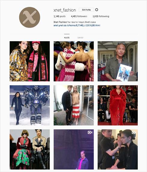 הקליקו על התמונה ועקבו אחרינו באינסטגרם (צילום: מתוך עמוד האינסטגרם של xnet_fashion@)