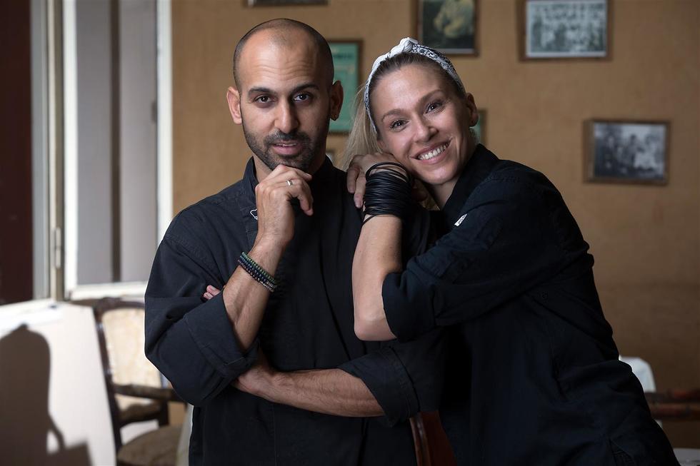 רוני וכפיר גליקו. ניהול מסעדה מחזק את הזוגיות (צילום: אסף רונן)