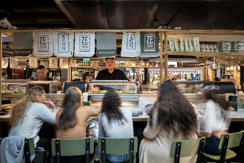 """""""זה סושי"""". אימפרית מסעדות (צילום: יח""""צ)"""