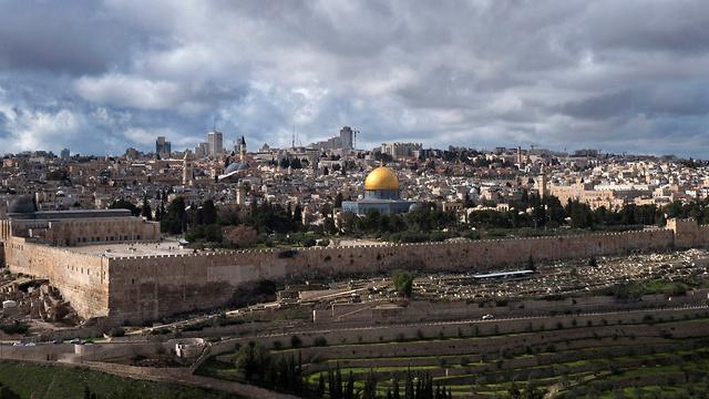 Вид на Старый город в Иерусалиме. Фото: EPA