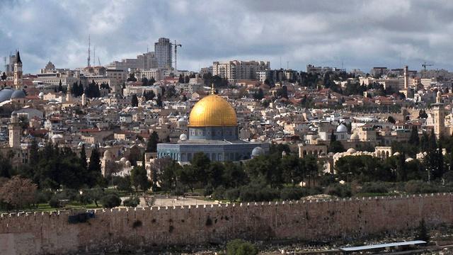 """הרמז האפשרי היחיד לירושלים בקוראן הוא במילים """"המסגד האחרון"""" שאליו דהר מוחמד במסעו הלילי הפנטסטי (צילום: EPA) (צילום: EPA)"""