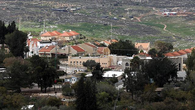 Shavei Shomron settlement (Photo: EPA)